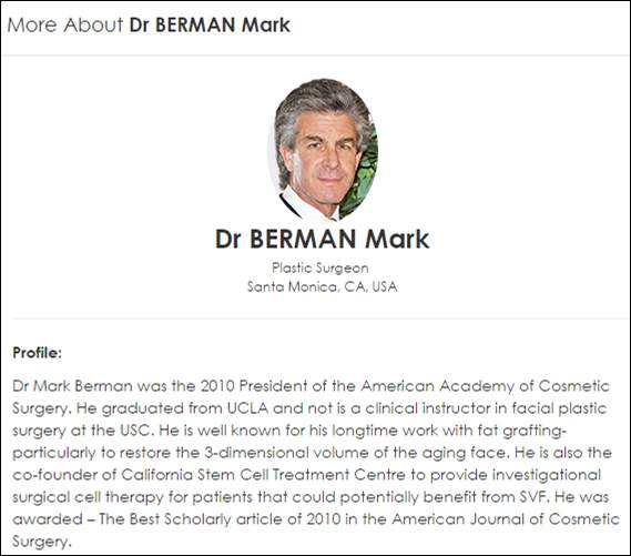 About Dr. Berman